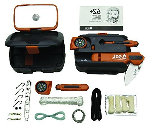Small Lightweight Survival Kit SOL Survive Outdoors Longer POCKET SURVIVAL PAK