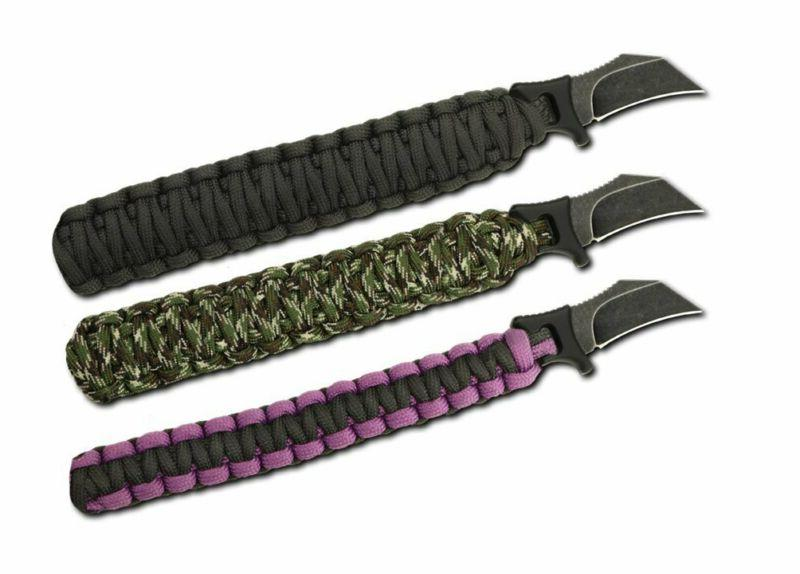 Outdoor Para-Claw Paracord Knife