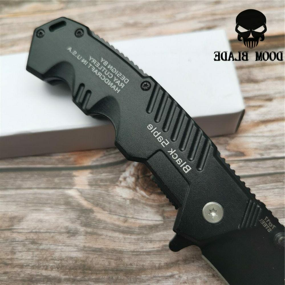 Quick Open Knives Folding Knife Survival Camping