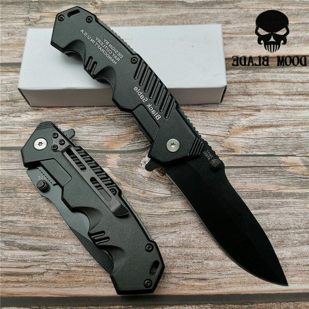 Quick Folding Knife Survival Camping