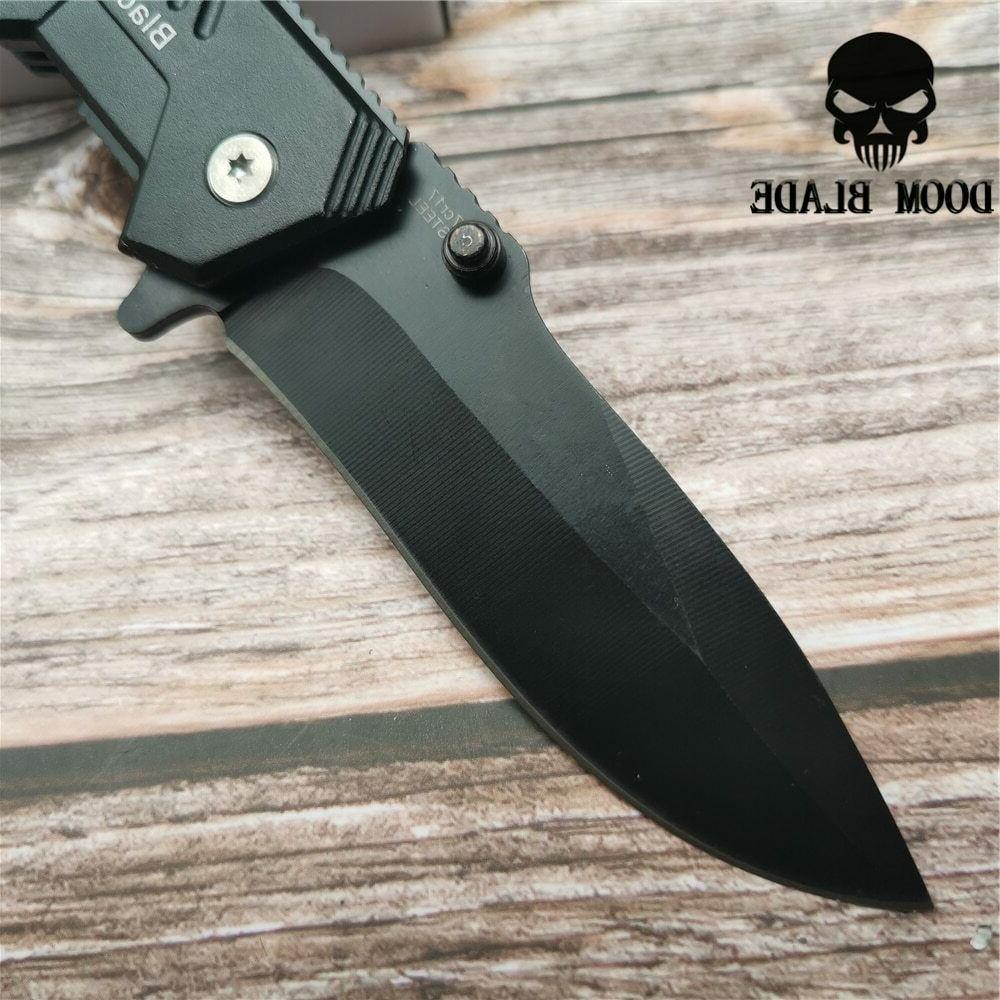 Quick Knives Folding Pocket Knife Tactical Survival Camping Hunting