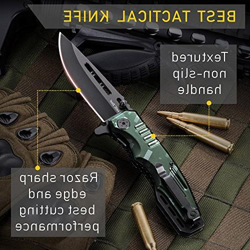 Spring Pocket Scouts Knife - for Camping, Indoor Outdoor Activities 6681 N
