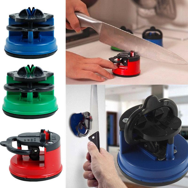 suction cup sharp knife knives sharpener mini