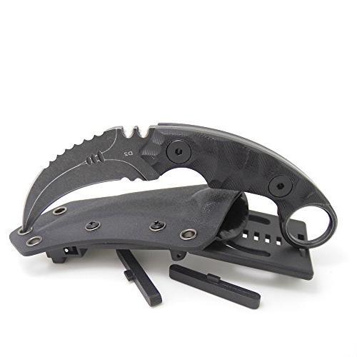 MASALONG Survival Tactical Edged Blade Knife