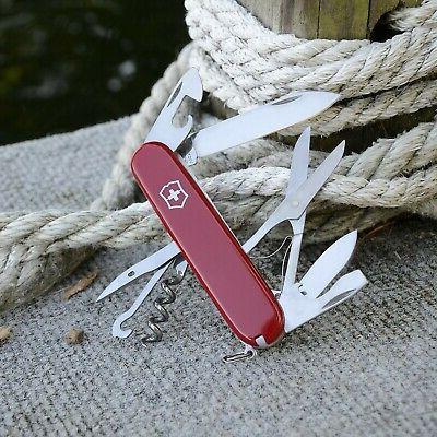Victorinox Multi-Tool, Huntsman Knife - Red