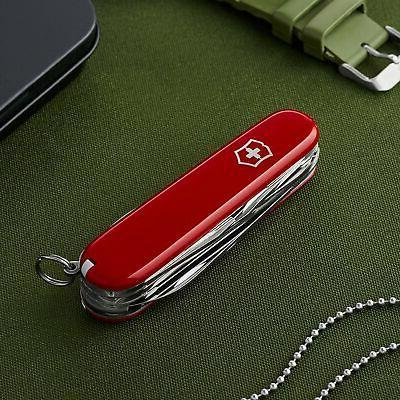 Huntsman Pocket Knife Red