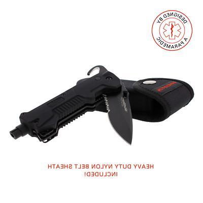 StatGear T3 Auto Rescue Tool Knife Breaker Seatbelt Cutter EMS