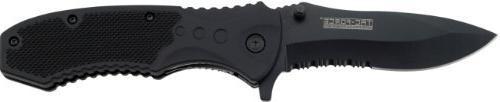 tac force black pocket knife