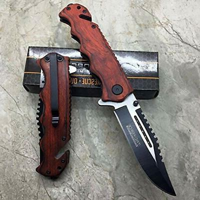 Tac Force G'Store Wooden Hunting Tactical Handy Knife