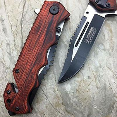 Tac Vintage Wooden Handle
