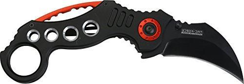 tac force pocket knives black