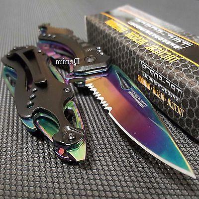 Tac Rainbow Blade Pocket Hunting