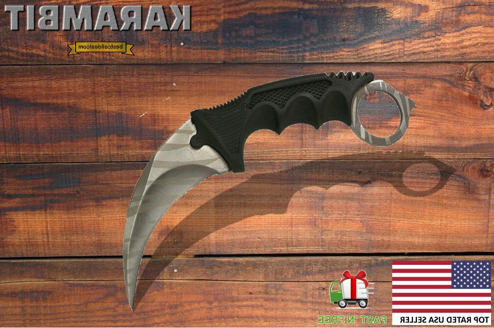 Tactical Fixed Blade Hunting Bowie Full