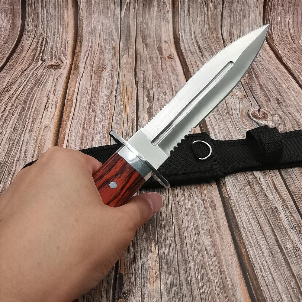 Tactical Knife Fixed Blade OUTDOOR RESCUE KNIVES