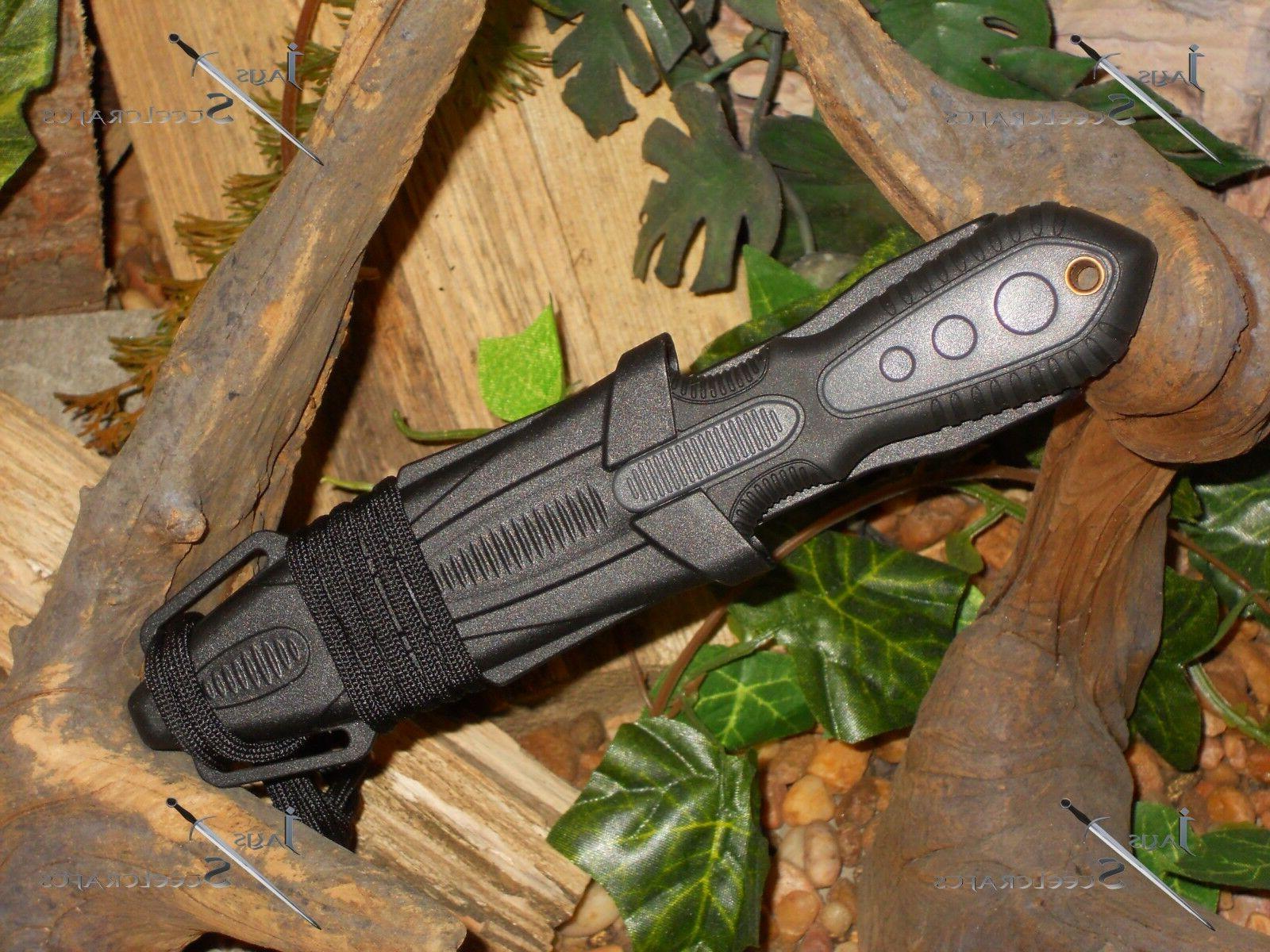 united cutler belt boot neck knife bowie