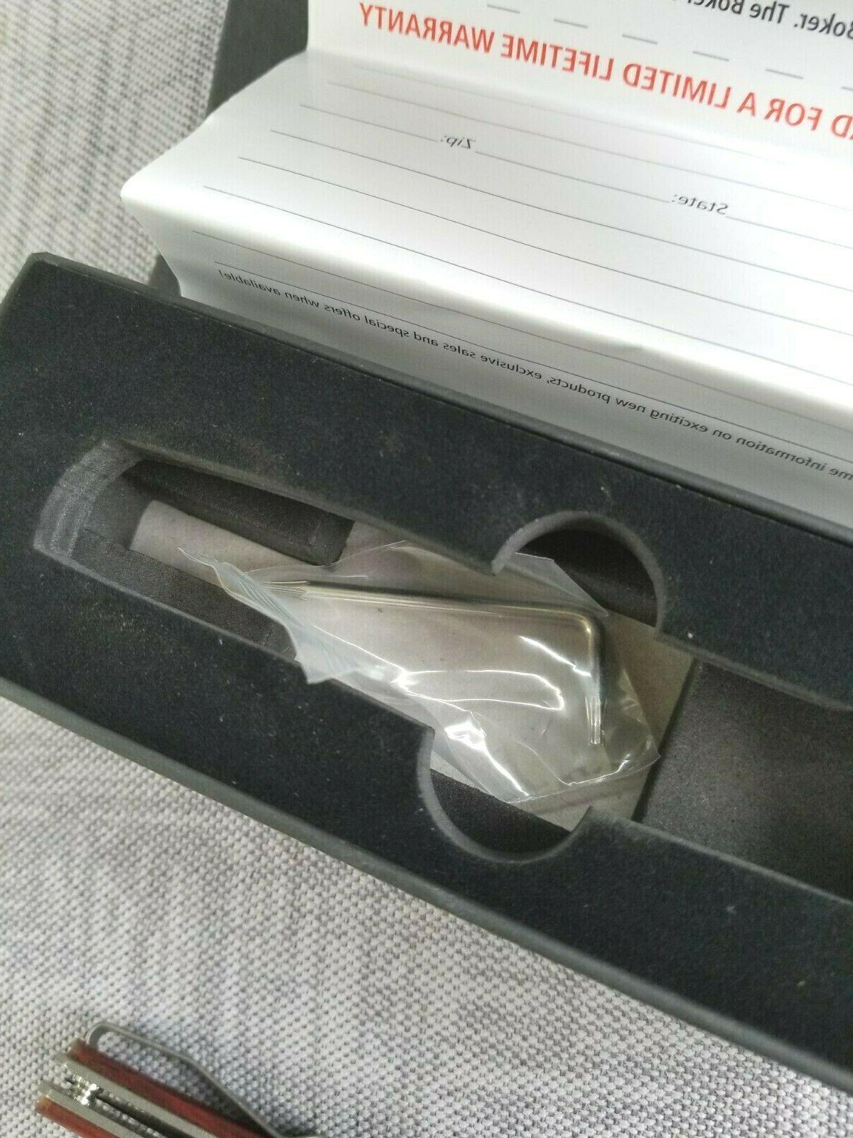 Boker Plus Linerlock Scales Flipper VG-10 Knife 01BO734