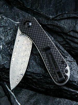 We Knife - Elementum Black Fiber