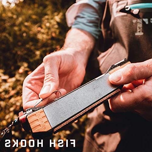 Sharpener - sharpening guides, diamond ceramic leather