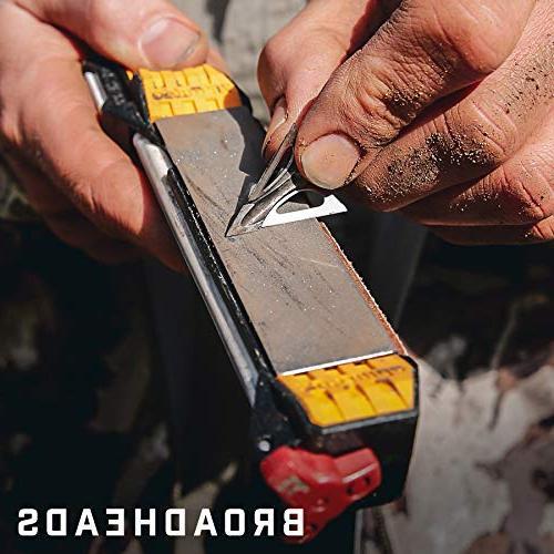 Work Guided Sharpener - sharpening diamond plate, ceramic leather