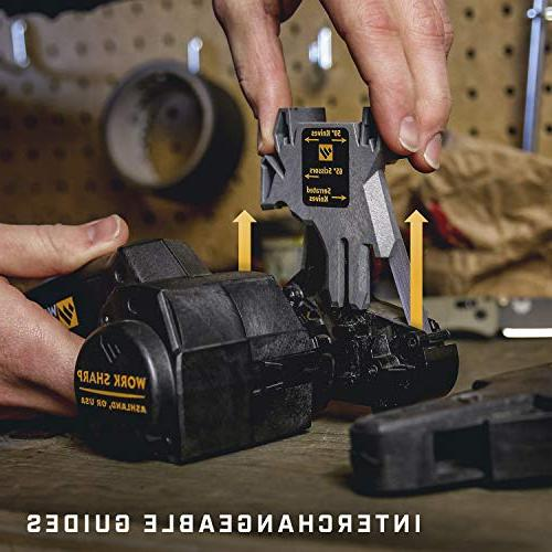 Work Sharp Tool Sharpener precision sharpening abrasive consistent Frustration-Free