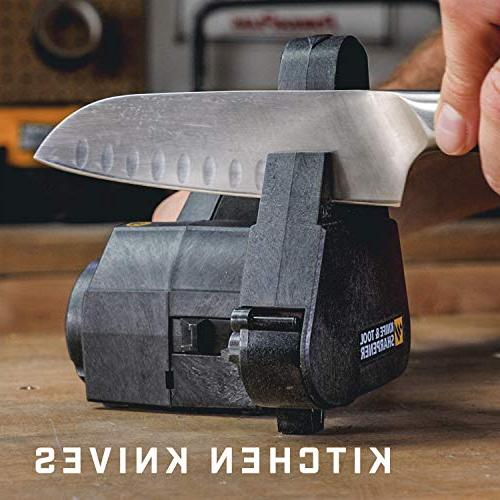 Work Knife & Tool Sharpener sharpening premium abrasive repeatable and consistent Frustration-Free