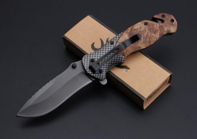 Folding Pocket Knife Hunting Tool BROWNING