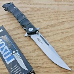 "Cold Steel Luzon Folding Medium Knife 4"" Stainless Blade Bla"
