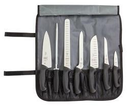 Mercer Tool M21820 Millennia 8 Pieces Knife Roll Set