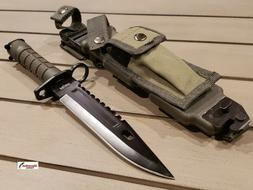 M9 Bayonet Tactical Holster Survival Combat Knife Rescue She