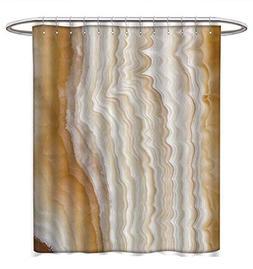 Anhuthree Marble Shower Curtains 3D Digital Printing Odd Wav