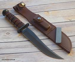 13.25 INCH MARBLES JET PILOT BOWIE FIXED BLADE HUNTING SURVI