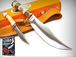 MARBLES Stag Handle Hunter HUNTING Skinning 2 Knife COMBO Se