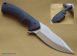 MASTER USA FIXED BLADE HUNTING SKINNING KNIFE WITH NYLON FIB