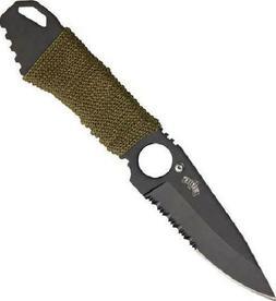 Master USA MU-1121 Series Tactical Fixed Blade Neck Knife, H