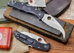 Spyderco Matriarch Spyder Edge Knife, Black
