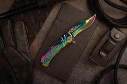 MASTER USA MC-A003RB MC Collection Fantasy Folding Knife, 4.