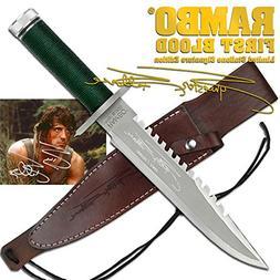 Master Cutlery MC-RB1SS Rambo 1 - Sylvester Stallone Signatu