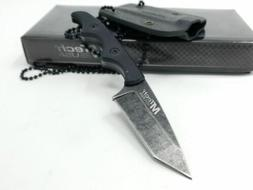 MTECH USA MT-673 Fixed Stainless Steel Blade