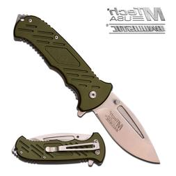 MTECH USA MT-A875GN Spring Assisted Tactical Ballistic EDC F
