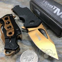 MTech USA MT-A882OR Spring Assist Folding Knife, Orange Blad