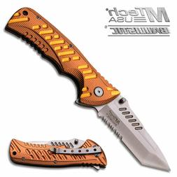 Mtech Usa ballistic Spring Assisted Tactical  Pocket knife S