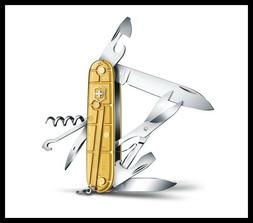 VICTORINOX CLIMBER GOLD 2016 LIMITED EDITION POCKET KNIFE 91