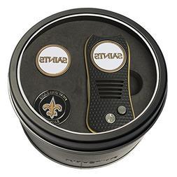 Team Golf NFL New Orleans Saints  Gift Set Switchfix Divot T