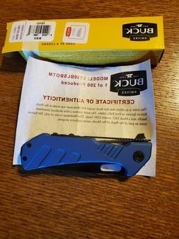 NIB Buck Knives blue 830 Marksman Limited Edition June/July