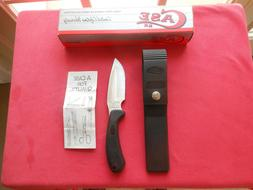 NOS CASE XX Ridgeback DROP POINT Black Fixed Knife Sheath By