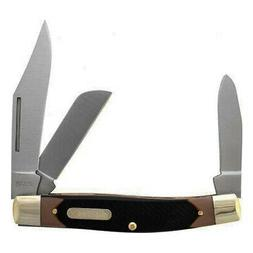 Old Timer 8OT Senior 6.9in S.S. Traditional Folding Knife wi