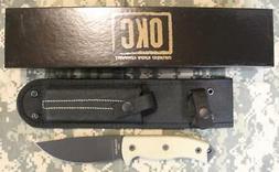 Ontario #8667 RAT 5 Fixed Blade Knife & Nylon Sheath 1095 Ca