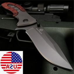 Open Knife Tactical Hunting Knifes Tanto Folding Blade EDC R