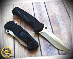 10.5 INCH OVERALL JUMBO SPRING ASSISTED POCKET SHARP KNIFE R