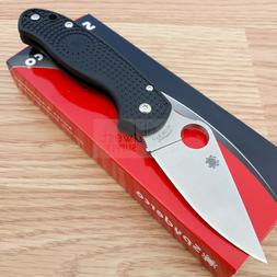 "Spyderco Para 3 Folding Knife 3"" Satin Finish CTS-BD1 Steel"